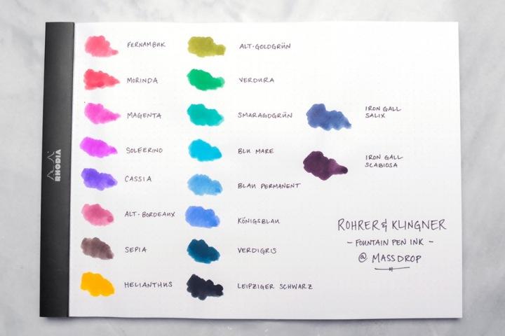 Rhoher colors