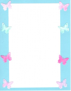 Butterfly Dot Page